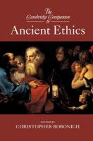 Cambridge Companions to Philosophy, The Cambridge Companion to Ancient Ethics