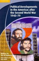 IB Diploma, History for the IB Diploma: Political Developments in the Americas after   the Second World War 1945-79