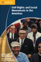 History for the IB Diploma: Civil Rights and Social Movements in the Americas, History for the IB Diploma: Civil Rights and Social Movements in the Americas