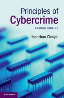 Principles of Cybercrime 2nd Revised edition