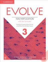 Evolve Level 3 Teacher's Edition with Test Generator