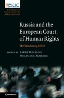 Russia and the European Court of Human Rights: The Strasbourg Effect