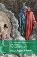 Cambridge Companions to Literature, The Cambridge Companion to Dante's `Commedia'
