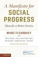 Manifesto for Social Progress: Ideas for a Better Society