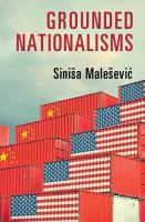 Grounded Nationalisms: A Sociological Analysis