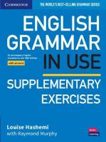 English Grammar in Use Supplementary Exercises Book with Answers: To Accompany English Grammar in Use Fifth Edition 5th Revised edition