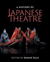 History of Japanese Theatre