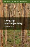 Key Topics in Applied Linguistics, Language and Subjectivity
