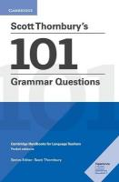 Scott Thornbury's 101 Grammar Questions Pocket Editions: Cambridge Handbooks for Language Teachers, Scott Thornbury's 101 Grammar Questions Pocket Editions: Cambridge   Handbooks for Language Teachers