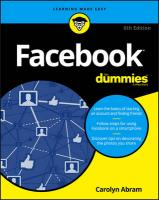 Facebook for Dummies, 6th Edition 6th Revised edition