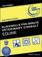 Blackwell's Five-Minute Veterinary Consult: Equine 3rd Edition