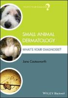 Small Animal Dermatology: What's Your Diagnosis?