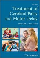 Treatment of Cerebral Palsy and Motor Delay 6th Edition
