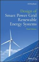 Design of Smart Power Grid Renewable Energy Systems 3rd Edition