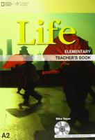 Life Elementary: Teacher's Book with Audio CD: Teacher's Book with Class Audio CD, A1, Teacher's Book