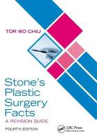 Stone's Plastic Surgery Facts: A Revision Guide, Fourth Edition: A Revision Guide 4th New edition