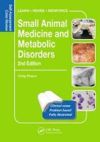 Small Animal Medicine and Metabolic Disorders: Self-Assessment Color Review 2nd New edition