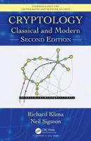 Cryptology: Classical and Modern 2nd New edition