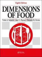 Dimensions of Food 8th New edition