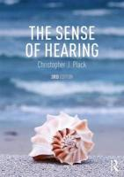 Sense of Hearing: Second Edition 3rd New edition