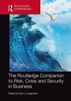 Routledge Companion to Risk, Crisis and Security in Business