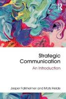 Strategic Communication: An Introduction
