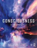 Consciousness: An Introduction 3rd New edition