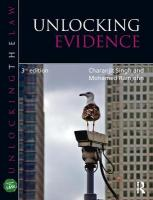 Unlocking Evidence 3rd New edition