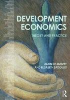 Development Economics: Theory and practice