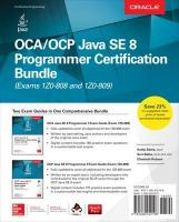 OCA/OCP Java SE 8 Programmer Certification Bundle (Exams 1Z0-808 and 1Z0-809)