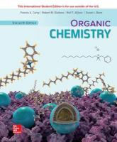 ISE ORGANIC CHEMISTRY 11th edition