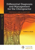 Differential Diagnosis And Management For The Chiropractor 5th Revised edition