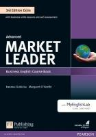 Market Leader 3rd Edition Extra Advanced Coursebook with DVD-ROM and   MyEnglishLab Pack 3rd edition