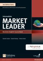 Market Leader 3rd Edition Extra Intermediate Coursebook with DVD-ROM and   MyEnglishLab Pack 3rd edition