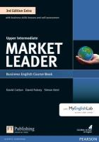 Market Leader 3rd Edition Extra Upper Intermediate Coursebook with DVD-ROM   and MyEnglishLab Pack 3rd edition