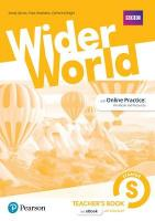Wider World Starter Teacher's Book with Codes & DVD-ROM Pack