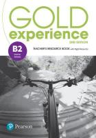 Gold Experience 2nd Edition B2plus Teacher's Resource Book