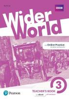 Wider World 3 Teacher's Book with MyEnglishLab & Online Extra Homework plus   DVD-ROM Pack