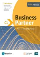 Business Partner C1 Coursebook and Basic MyEnglishLab Pack
