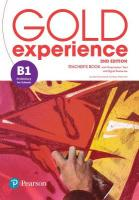 Gold Experience 2nd Edition B1 Teacher's Book with Online Practice & Online   Resources Pack