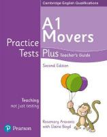 Practice Tests Plus A1 Movers Teacher's Guide 2nd edition