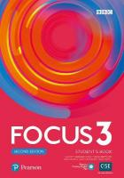 Focus 2e 3 Student's Book with Basic PEP Pack 2nd edition
