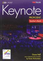 Keynote Proficient: Teacher's Book with Audio CDs: Teacher's Book with Class Audio CDs, C2, Teacher's Book