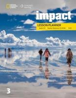 Impact 3: Lesson Planner Teacher's edition