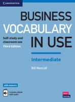 Business Vocabulary in Use: Intermediate Book with Answers and Enhanced ebook: Self-Study and Classroom Use 3rd Revised edition
