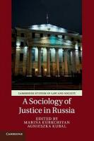 Sociology of Justice in Russia