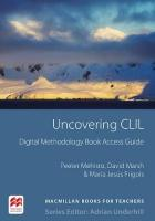 Uncovering CLIL Digital Methodology Book Pack
