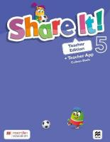 Share It! Level 5 Teacher Edition with Teacher App