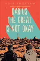 Darius the Great Is Not Okay Large type / large print edition