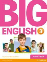 Big English 3 Activity Book, 3
